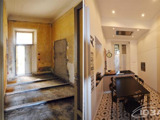Progettazione di interni per ristrutturazione residenza privata