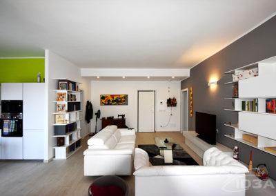 Progettazione di interni residenza privata